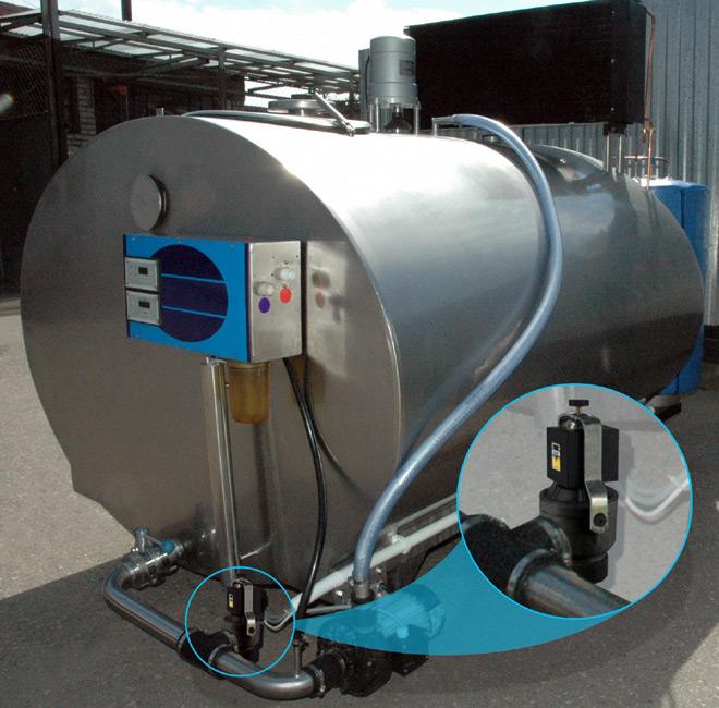 Пример-2 установки дренажного клапана Sirai D13