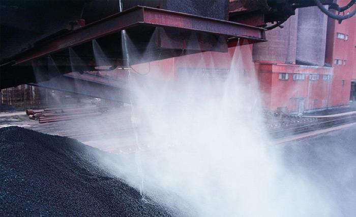Туманообразование для пылеподавления