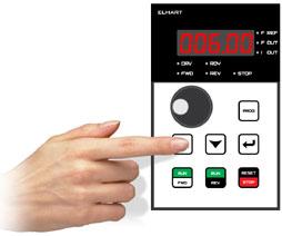 Задание уставки ПИД-регулятора с помощью кнопок