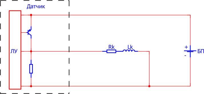 Схема включения электромагнитной катушки