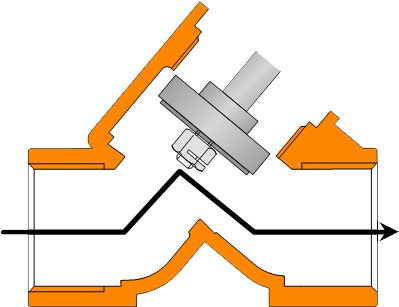 Монтаж распределительных клапанов в шкафу управления