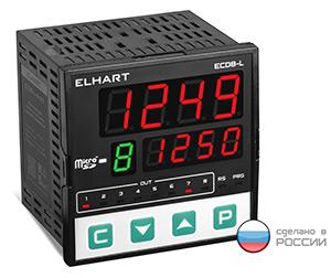 Восьмиканальный измеритель-регулятор с универсальными входами и функцией архивирования серии ECD8-L