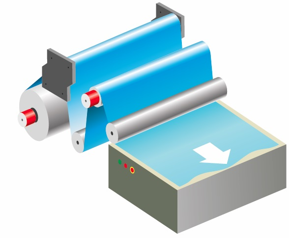 Бумажная промышленность: Синхронизация линейной скорости валов