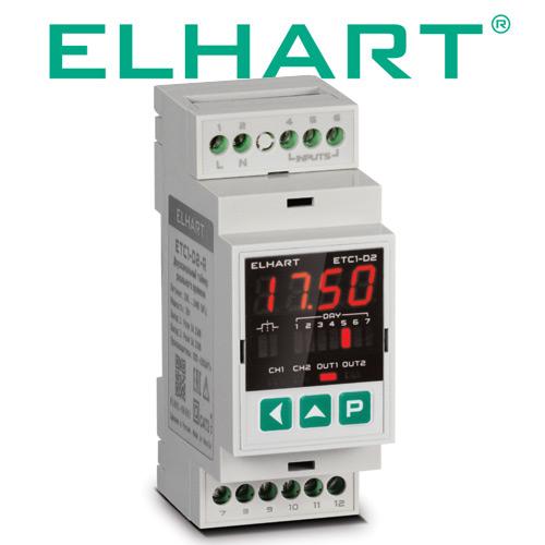 Видеообзор — Двухканальный таймер реального времени ELHART серии ETC1