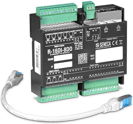 >Модули дискретного ввода / вывода R-16DI-8DO-P